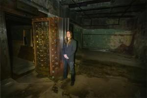 OWH photo of underground vault studio
