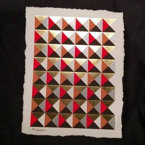 Giclee mixed media 12x16in print 'Paradigm' $75.00 $10.00 shipping